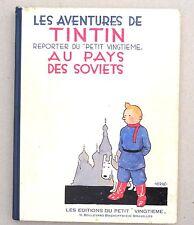 Les aventures de Tintin au Pays des Soviets Fac similé noir et blanc Avril 1982.