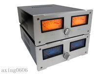 VU Meter Full aluminum preamplifier chassis/AMP case Enclosure / Box DIY