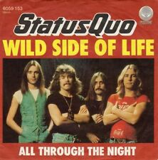 Status Quo Rock Single Vinyl Records