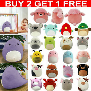 Squishmallows 7-Inch Plush Toy-Squeeze Super Soft Doll Pillow Stuffed