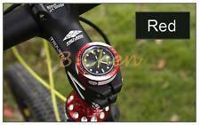 New Bicycle Bike Cycling Quartz Watch Bowl Set Top Gear Clock Stem Cover