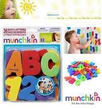 Hora Del Baño Juguete Munchkin 36 Baño Letras Números Bebé Niño baño Educativa