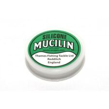 SILICONE MUCILIN FLY LINE DRESSING FISHING TACKLE, Solid Green
