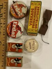 Antique Lot of Store Items, Tins, Etc for Doll Houses or Roomboxes