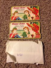 Vintage Sewing Needle Books - Happy Home - Set of 2 with Original Wrapper