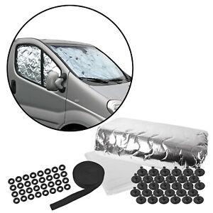 deiwo® Fahrerhaus Thermomatte, Sonnenschutz universal für alle Modelle