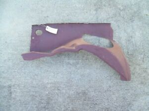 NOS MoPar 1978 - 1986 Dodge Omni Plymouth Horizon right front fender SHIELD