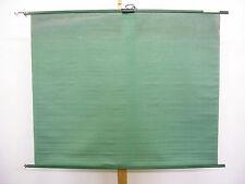 Tuchtafel aus der Schulzeit Stoff auf Holzstäben 132x107 vintage memo wall ~1960