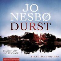 UVE TESCHNER - JO NESBO: DURST HÖRBUCH HAMBURG 9 CD NEW