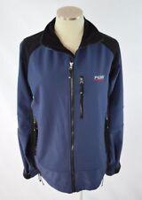 PEAK PERFORMANCE Blue Black Micro Fiber Zip Hiking Trail Camp Jacket Coat Mens M