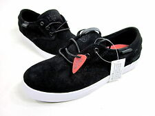 HABITAT FOOTWEAR, GARCIA SKATE SHOE, MENS, BLACK/WHITE, US 5M, NEW WITHOUT BOX