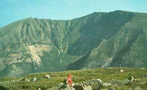 Vintage Postcard Mt. Katahdin Highest Peaks East Of The Rockies Maine ME