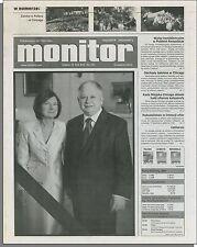Monitor - 2010, 16 Kwietnia April - Chicago Polish Newspaper. Lech Kaczynski