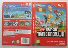 New Super Mario Bros. for Wii & Wii U - MINT DISC - OZ Seller - Fast Post