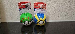 Mega Construx Pokemon Pokeball (Series 14) (Wooloo GYG80 & Goldeen GYG82) New**