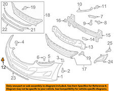 HYUNDAI OEM 11-13 Elantra Front Bumper-Tow Eye Cap Cover 865883X000