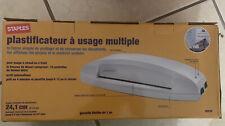 Staples 95 Thermal Amp Cold Multiuse Laminator White 26530 8849