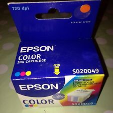 Cartucho De Tinta Original Epson Color Impresión Impresora Stylus 820 1500 Color 2
