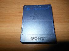 PLAYSTATION 2 Raro Azul Aqua 8mb Tarjeta de memoría Oficial magicgate PS2