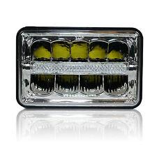 "4""x6"" LED DRL LIGHT BULB CRYSTAL CLEAR SEALED BEAM HEADLAMP HEADLIGHT 6x4 TRUCK"