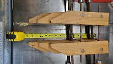 Wood Working Clamps HandScrew Hand Screw Set of 3 Jorgenson Type Clamps