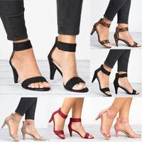 Damen High Heels Pumps Absatzschuhe Sandaletten Sandalen Party Abendschuhe Neu