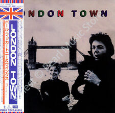 PAUL MCCARTNEY & WINGS LONDON TOWN CD MINI LP OBI Beatles Linda Denny Laine new