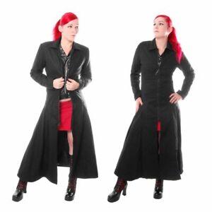 Schicker Damen Mantel, Schnürung im Rücken, Gothic, sexy, Baumwolle, Gr. M, NEU
