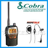 COBRA MR HH125 Handheld VHF Marine EU Version LCD Radio for Boat Vessel Yacht