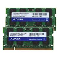 Adata 4GB Kit RAM 2X 2GB 2RX8 PC2-5300S SODIMM CPU Laptop DDR2 667Mhz Memory CL5