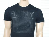 Armani Exchange Authentic Mini Print Logo T Shirt Black, Ochre or White NWT