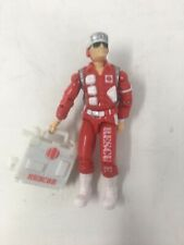 "GI Joe LIFELINE Rescue Trooper 3.75"" With Accessories 1988 Hasbro"