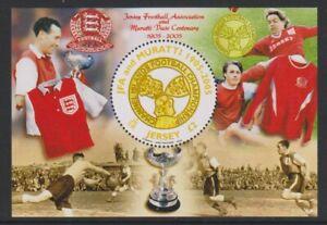 Jersey - 2005, Football, 2nd Series Feuille - MNH - Sg MS1201