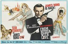 From Russian with Love - James Bond -  Poster 34 in x 20 in - Fast Shipping