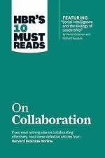 """HBR's 10 Must Reads on Collaboration (with featured article """"Social Intelligence"""