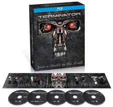 Terminator The Complete Anthology: Films 1 2 3 4 Movie Series BluRay Box Set NEW