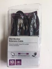 Belkin VGA Monitor Extension Cable 10 Feet Male/Female