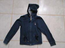 Veste bleue foncée de la marque Billieblush taille 8 ans
