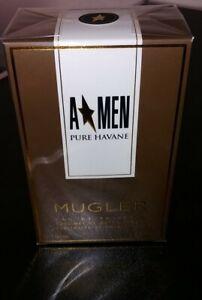 Thierry Mugler A Men Pure Havane EDT 100ml neu OVP selten Nischen- Qualität Top!