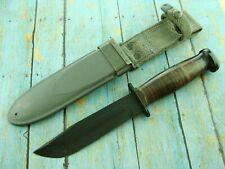 NM VINTAGE WW 2 II CAMILLUS US NAVY USN MARK 1 MK1 COMBAT FIGHTING KNIFE KNIVES