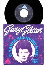 Gary Glitter - It Takes All Night Long Part 1 & 2  -  7 Inch Vinyl  - HOLLAND