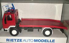 """RIETZE 60104 - Ford Cargo LKW """"Feuerwehr Abschleppwagen"""", H0 1:87, neu + OVP"""