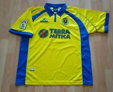 match worn camiseta Villarreal amor