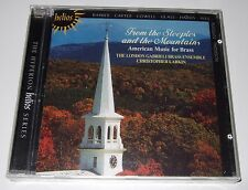From the Steeples and the Mountains - American Music for Brass (CD, Helios) new