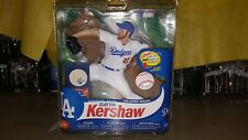 MCFARLANE SPORTS MLB COLLECTOR LEVEL CLAYTON KERSHAW W/ PIECE OF BASEBALL INSIDE