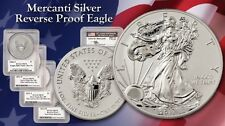 REVERSE PROOF SILVER EAGLE SET Mercanti signed VERY RARE 2006 2011 2012-S 2013-W