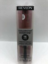 Revlon ColorStay Overtime 16H Liquid Lip Color 380 Always Sienna, 0.07 fl oz