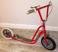 Rare Vintage Red Team Cycle Curb Cruiser Htx Ssx Scooter Collector
