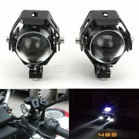 125W Universal Motorcycle Cree U5 LED Driving Fog Head Spot Light Headlight Lamp
