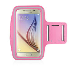 S6/S6 Edge/HTC M9 Light Pink Jogging, Running Armband Case